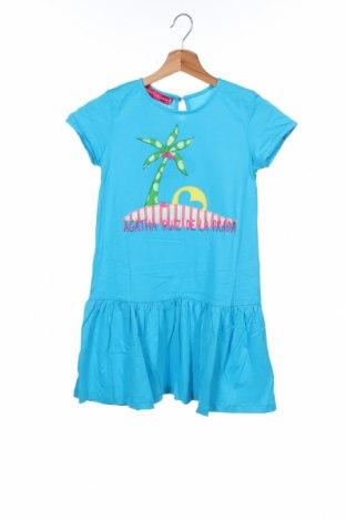 Παιδικό φόρεμα Agatha Ruiz De La Prada, Μέγεθος 9-10y/ 140-146 εκ., Χρώμα Μπλέ, Βαμβάκι, Τιμή 16,12€
