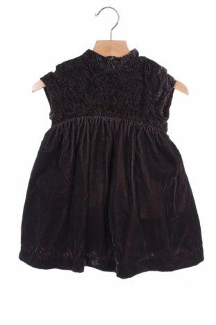 Παιδικό φόρεμα Gocco, Μέγεθος 18-24m/ 86-98 εκ., Χρώμα Καφέ, Πολυεστέρας, Τιμή 6,68€