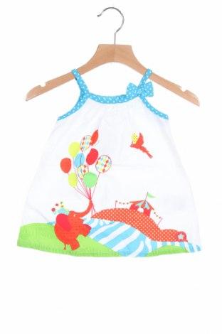 Παιδικό φόρεμα La Compagnie des Petits, Μέγεθος 3-6m/ 62-68 εκ., Χρώμα Λευκό, Βαμβάκι, Τιμή 8,23€
