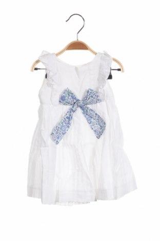 Παιδικό φόρεμα Lola Palacios, Μέγεθος 18-24m/ 86-98 εκ., Χρώμα Λευκό, Βαμβάκι, Τιμή 18,22€
