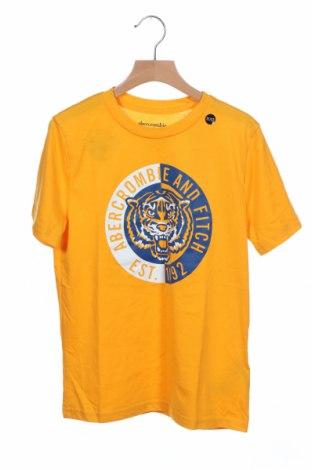Παιδικό μπλουζάκι Abercrombie Kids, Μέγεθος 11-12y/ 152-158 εκ., Χρώμα Κίτρινο, 60% βαμβάκι, 40% πολυεστέρας, Τιμή 19,70€