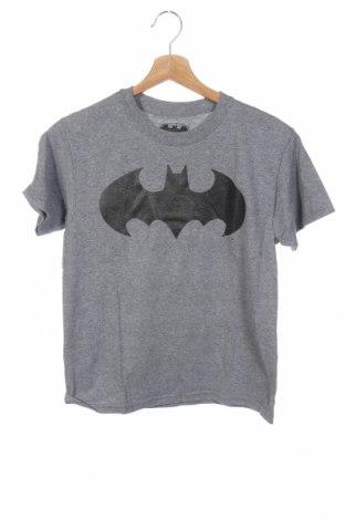 Παιδικό μπλουζάκι Batman, Μέγεθος 9-10y/ 140-146 εκ., Χρώμα Γκρί, 50% βαμβάκι, 50% πολυεστέρας, Τιμή 10,53€