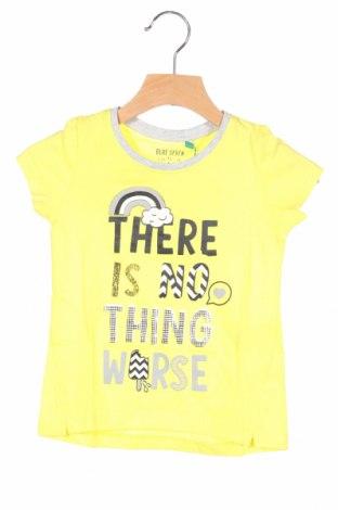 Παιδικό μπλουζάκι Blue Seven, Μέγεθος 18-24m/ 86-98 εκ., Χρώμα Κίτρινο, Βαμβάκι, Τιμή 6,20€