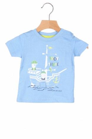 Παιδικό μπλουζάκι Blue Seven, Μέγεθος 3-6m/ 62-68 εκ., Χρώμα Μπλέ, Βαμβάκι, Τιμή 6,20€