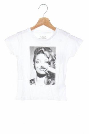 Детска тениска Eleven Paris, Размер 3-4y/ 104-110 см, Цвят Бял, 50% памук, 50% модал, Цена 19,60лв.