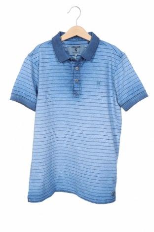 Детска тениска Garcia Jeans, Размер 15-18y/ 170-176 см, Цвят Син, 92% памук, 8% полиестер, Цена 14,00лв.