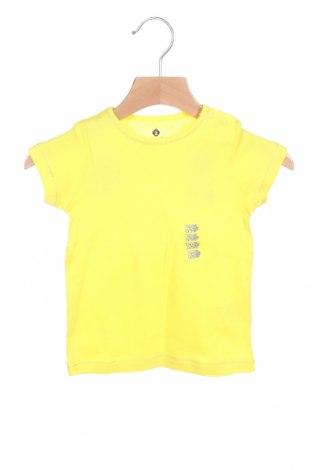 Παιδικό μπλουζάκι Grain De Ble, Μέγεθος 6-9m/ 68-74 εκ., Χρώμα Κίτρινο, Βαμβάκι, Τιμή 6,43€
