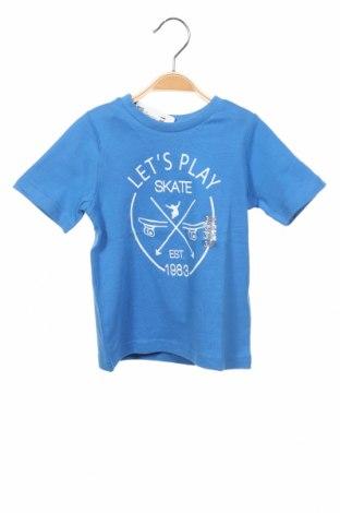 Παιδικό μπλουζάκι Grain De Ble, Μέγεθος 18-24m/ 86-98 εκ., Χρώμα Μπλέ, Βαμβάκι, Τιμή 6,43€