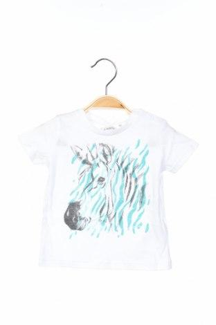 Dětské tričko  IKKS, Velikost 3-6m/ 62-68 cm, Barva Bílá, Bavlna, Cena  151,00Kč