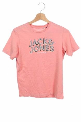 Παιδικό μπλουζάκι Jack & Jones, Μέγεθος 10-11y/ 146-152 εκ., Χρώμα Ρόζ , Βαμβάκι, Τιμή 8,77€