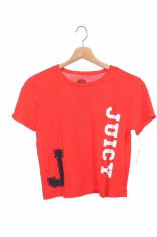 Детска тениска Juicy Couture, Размер 14-15y/ 168-170 см, Цвят Червен, 100% памук, Цена 31,85лв.