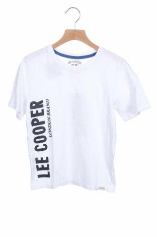 Детска тениска Lee Cooper, Размер 8-9y/ 134-140 см, Цвят Бял, Памук, Цена 14,50лв.