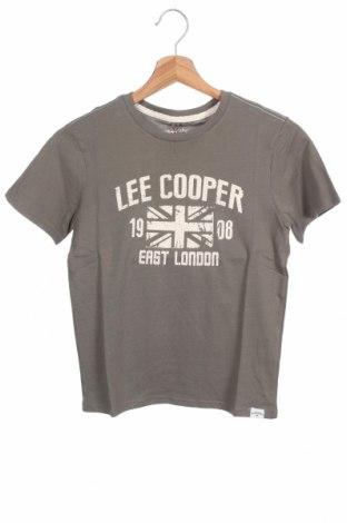 Παιδικό μπλουζάκι Lee Cooper, Μέγεθος 8-9y/ 134-140 εκ., Χρώμα Πράσινο, Βαμβάκι, Τιμή 6,43€