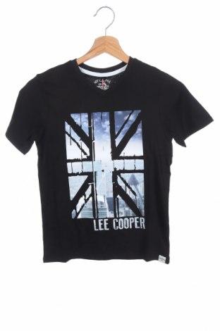 Παιδικό μπλουζάκι Lee Cooper, Μέγεθος 8-9y/ 134-140 εκ., Χρώμα Μαύρο, Βαμβάκι, Τιμή 6,43€