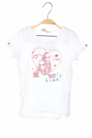 Παιδικό μπλουζάκι Lisa Rose, Μέγεθος 3-4y/ 104-110 εκ., Χρώμα Λευκό, 51% βισκόζη, 49% βαμβάκι, Τιμή 4,93€