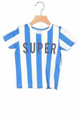 Παιδικό μπλουζάκι Name It, Μέγεθος 9-12m/ 74-80 εκ., Χρώμα Μπλέ, 95% βαμβάκι, 5% ελαστάνη, Τιμή 6,20€