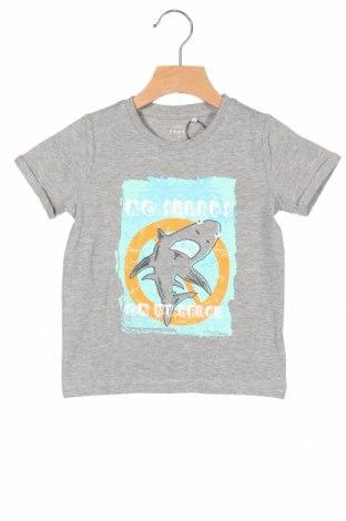 Παιδικό μπλουζάκι Name It, Μέγεθος 18-24m/ 86-98 εκ., Χρώμα Γκρί, 80% βαμβάκι, 15% βισκόζη, 5% ελαστάνη, Τιμή 5,76€