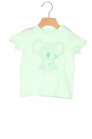 Παιδικό μπλουζάκι Name It, Μέγεθος 3-6m/ 62-68 εκ., Χρώμα Πράσινο, 95% βαμβάκι, 5% ελαστάνη, Τιμή 6,20€