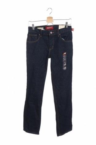 Blugi pentru copii Arizona Jean Co, Mărime 15-18y/ 170-176 cm, Culoare Albastru, Bumbac, Preț 129,65 Lei