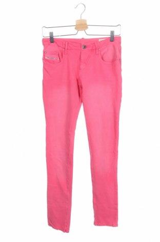 Παιδικά τζίν Diesel, Μέγεθος 15-18y/ 170-176 εκ., Χρώμα Ρόζ , 97% βαμβάκι, 3% ελαστάνη, Τιμή 13,30€