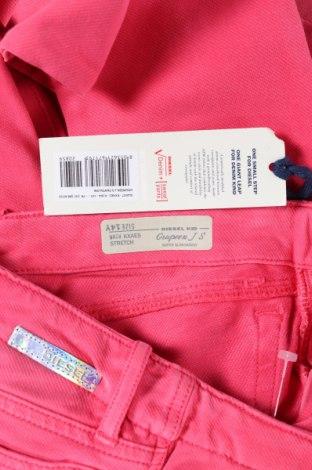 Παιδικά τζίν Diesel, Μέγεθος 13-14y/ 164-168 εκ., Χρώμα Ρόζ , 97% βαμβάκι, 3% ελαστάνη, Τιμή 15,29€