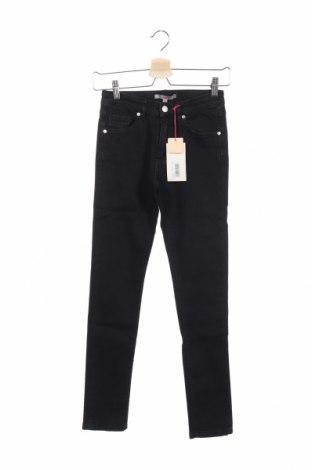 Детски дънки Silvian Heach, Размер 13-14y/ 164-168 см, Цвят Черен, 98% памук, 2% еластан, Цена 31,36лв.