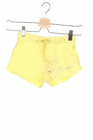 Παιδικό κοντό παντελόνι Agatha Ruiz De La Prada, Μέγεθος 7-8y/ 128-134 εκ., Χρώμα Κίτρινο, 96% βαμβάκι, 4% ελαστάνη, Τιμή 6,27€