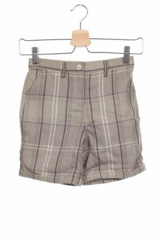 Παιδικό κοντό παντελόνι Gocco, Μέγεθος 7-8y/ 128-134 εκ., Χρώμα Γκρί, 65% πολυεστέρας, 35% βισκόζη, Τιμή 5,22€