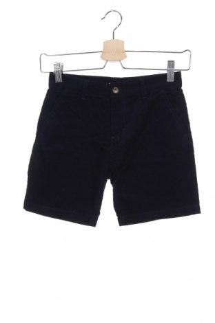 Παιδικό κοντό παντελόνι Gocco, Μέγεθος 5-6y/ 116-122 εκ., Χρώμα Μπλέ, 70% βαμβάκι, 28% πολυεστέρας, 2% ελαστάνη, Τιμή 2,45€