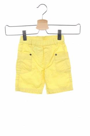 Детски къс панталон Grain De Ble, Размер 6-9m/ 68-74 см, Цвят Жълт, Памук, Цена 16,20лв.