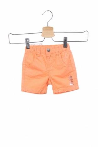 Παιδικό κοντό παντελόνι Grain De Ble, Μέγεθος 3-6m/ 62-68 εκ., Χρώμα Πορτοκαλί, Βαμβάκι, Τιμή 6,43€
