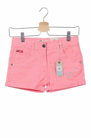 Детски къс панталон Lee Cooper, Размер 11-12y/ 152-158 см, Цвят Розов, 98% памук, 2% еластан, Цена 27,00лв.