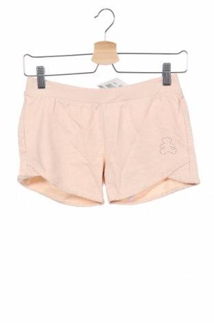 Παιδικό κοντό παντελόνι Lulu Castagnette, Μέγεθος 9-10y/ 140-146 εκ., Χρώμα Ρόζ , Βαμβάκι, Τιμή 7,09€