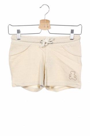 Παιδικό κοντό παντελόνι Lulu Castagnette, Μέγεθος 11-12y/ 152-158 εκ., Χρώμα  Μπέζ, Βαμβάκι, Τιμή 5,99€