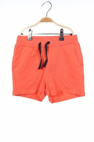 Παιδικό κοντό παντελόνι Name It, Μέγεθος 6-7y/ 122-128 εκ., Χρώμα Πορτοκαλί, 95% βαμβάκι, 5% ελαστάνη, Τιμή 7,44€