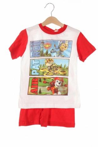Παιδικό σύνολο Nickelodeon, Μέγεθος 3-4y/ 104-110 εκ., Χρώμα Κόκκινο, Βαμβάκι, Τιμή 17,32€