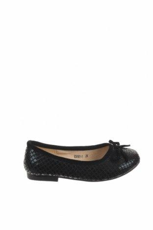 Παιδικά παπούτσια, Μέγεθος 24, Χρώμα Μαύρο, Κλωστοϋφαντουργικά προϊόντα, Τιμή 12,06€