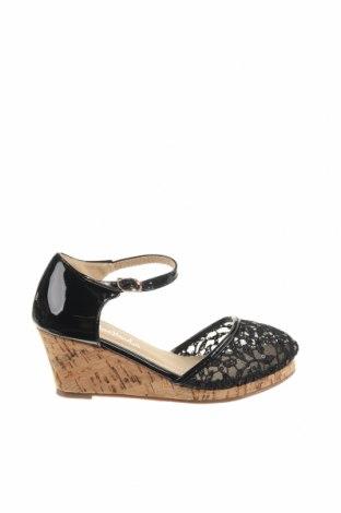 Παιδικά παπούτσια, Μέγεθος 31, Χρώμα Μαύρο, Δερματίνη, κλωστοϋφαντουργικά προϊόντα, Τιμή 10,21€