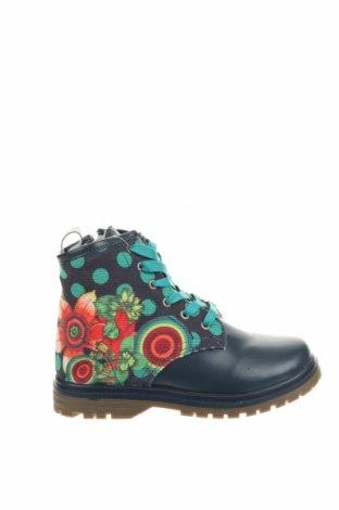 Παιδικά παπούτσια Desigual, Μέγεθος 31, Χρώμα Μπλέ, Δερματίνη, Τιμή 49,87€