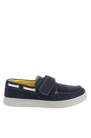 Παιδικά παπούτσια Geox, Μέγεθος 39, Χρώμα Μπλέ, Φυσικό σουέτ, Τιμή 46,54€