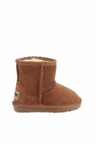 Παιδικά παπούτσια Minnetonka, Μέγεθος 24, Χρώμα Καφέ, Φυσικό σουέτ, Τιμή 41,81€