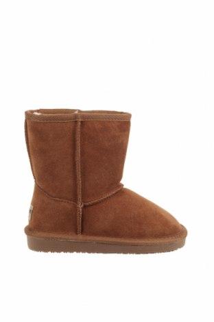 Παιδικά παπούτσια Minnetonka, Μέγεθος 29, Χρώμα Καφέ, Φυσικό σουέτ, Τιμή 41,81€
