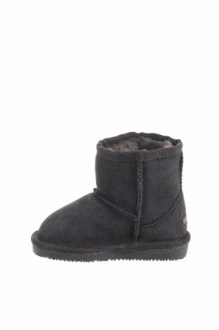Παιδικά παπούτσια Minnetonka, Μέγεθος 21, Χρώμα Γκρί, Φυσικό σουέτ, Τιμή 50,52€