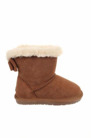 Детски обувки Nice Bay, Размер 28, Цвят Кафяв, Естествен велур, естествен косъм, Цена 76,45лв.