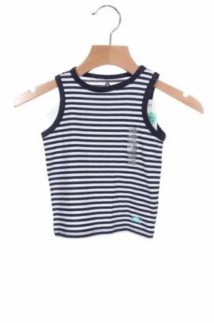 Μπλουζάκι αμάνικο παιδικό Grain De Ble, Μέγεθος 9-12m/ 74-80 εκ., Χρώμα Μπλέ, Βαμβάκι, Τιμή 5,76€