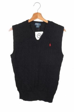 Детски пуловер Polo By Ralph Lauren, Размер 13-14y/ 164-168 см, Цвят Черен, Памук, Цена 33,92лв.