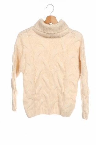 Παιδικό πουλόβερ Zara Knitwear, Μέγεθος 11-12y/ 152-158 εκ., Χρώμα  Μπέζ, 80%ακρυλικό, 11% μαλλί, 9% πολυεστέρας, Τιμή 9,35€