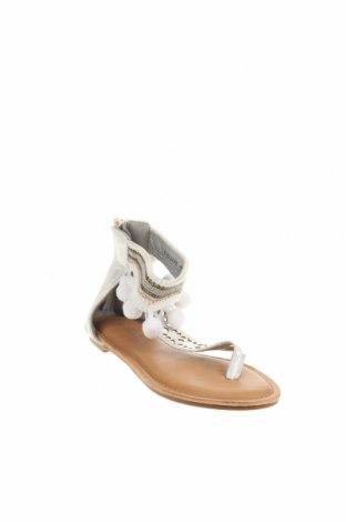 Детски сандали, Размер 32, Цвят Сив, Еко кожа, Цена 29,25лв.