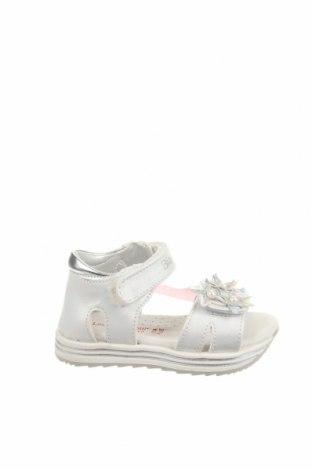 Παιδικά σανδάλια Laura Biagiotti, Μέγεθος 22, Χρώμα Λευκό, Δερματίνη, Τιμή 35,79€