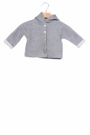 Παιδικό φούτερ Belly Button, Μέγεθος 2-3m/ 56-62 εκ., Χρώμα Γκρί, 75% βαμβάκι, 25% πολυεστέρας, Τιμή 15,51€